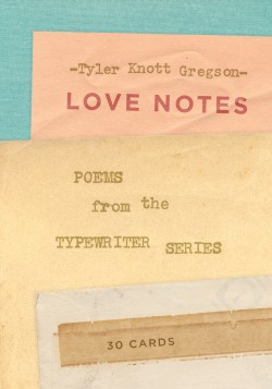 Love Notes: 30 Cards (Postcard Book) Poems from the Typewriter Series