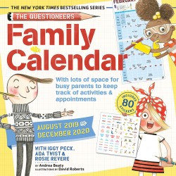 Questioneers Family Planner 2020 Wall Calendar