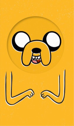 Adventure Time Notepad: Jake