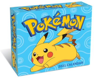 Pokémon 2021 Day-to-Day Calendar