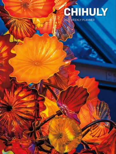Chihuly 2021 Weekly Planner
