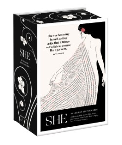 She: 100 Literary Art Postcards Box