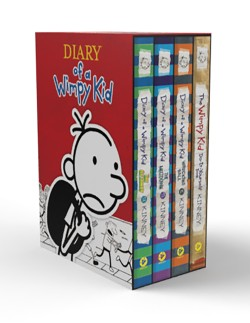 Diary of a Wimpy Kid Box of Books (12-14 plus DIY)